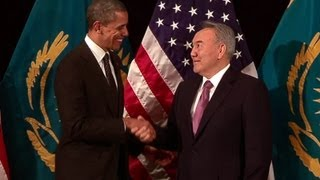 President Obama's Bilateral Meeting with President Nazarbayev of Kazakhstan
