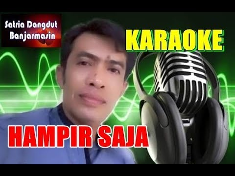 HAMPIR SAJA - RHOMA IRAMA FEAT ELVY SUKAESIH (KARAOKE)MUSIC AMANG IZAI BORNEO
