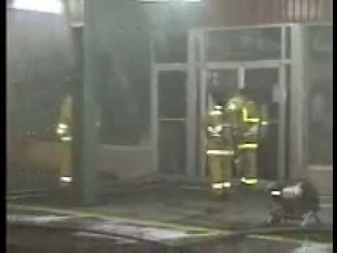 Thrift Store Structure Fire King george Blvd January 03 1998 Surrey BC Canada