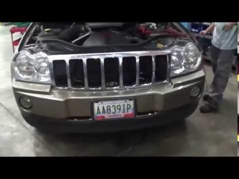 jeep grand cherokee 2006 motor no apaga al poner llave en off