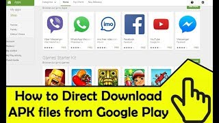 How to Download APK files from Google Play store to PC!