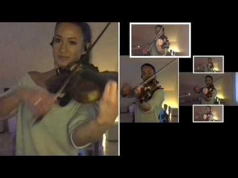 The greatest - Sia (violin cover Céline Prussel)
