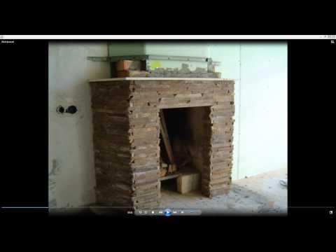 видео: Камин из гипсокартона своими руками. Камин в доме. Камины в интерьере
