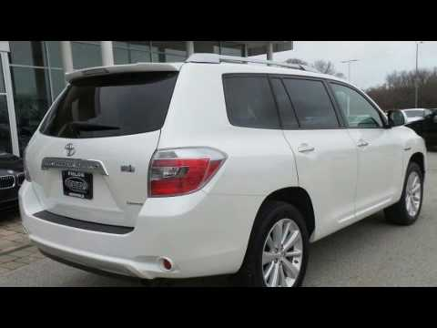 2010 Toyota Highlander Hybrid Limited W 3rd Row