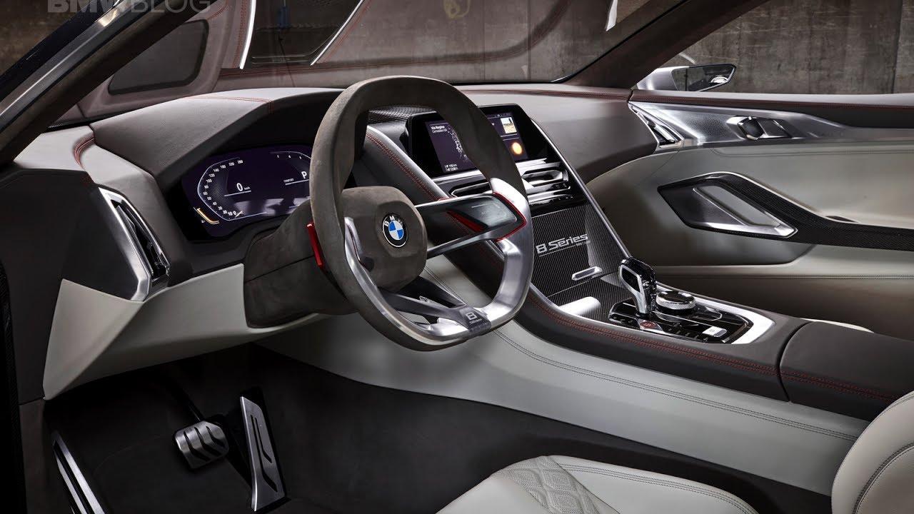 interior design of new bmw 8 series concept youtube
