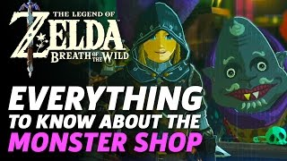 Everything You Need to Know About The Monster Shop In Zelda: Breath of the Wild