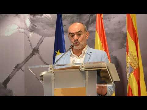 Toma de posesión de Ramón Campo como consejero comarcal de Somontano