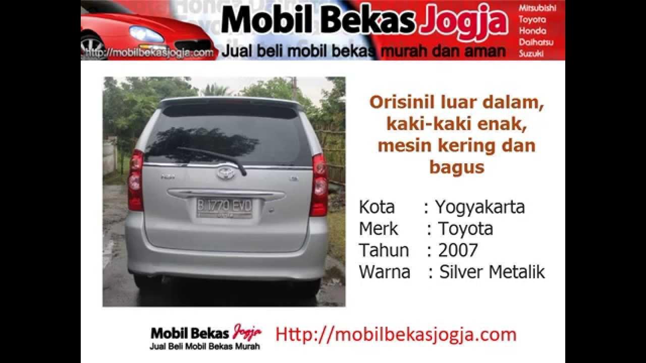 Harga Grand New Avanza Di Jogja Review All Kijang Innova Diesel Jual Murah Toyota Tahun 2007 Mobil Bekas Youtube