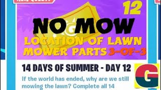 FORTNITE STW/ 14 DAYS OF SUMMER - NO MOW.