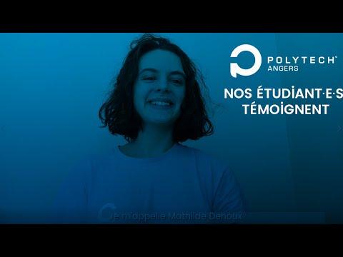 Nos étudiant·es témoignent : Mathilde, PeiP B - Polytech Angers