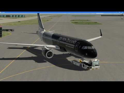 X-Plane 11 | JAR A320-200 | Auckland - Christchurch