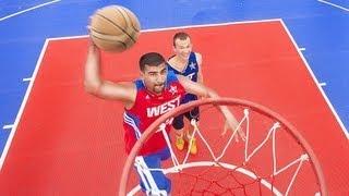 Уличный баскетбол в Актау