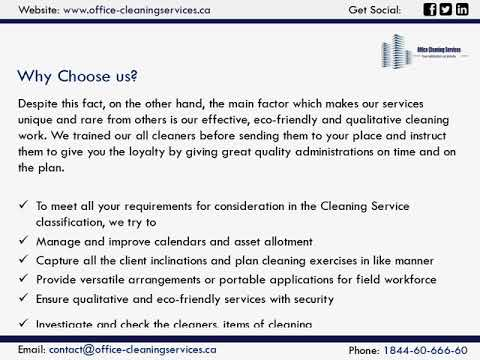 Best Cleaning Services Montreal