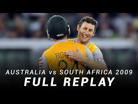 LIVE Flashback: Australia v South Africa | First T20I, 2008-