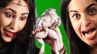 Actual Princesses Kiss An Actual Frog
