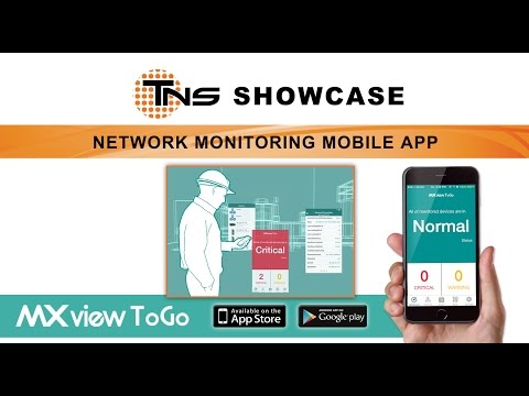 Industrial Network Monitoring Mobile App - Moxa MXview ToGo