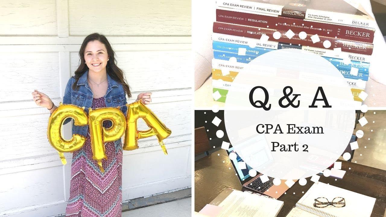 CPA Q & A   Part 2  