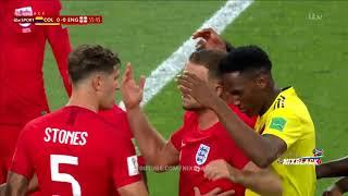 England vs Columbia All gool