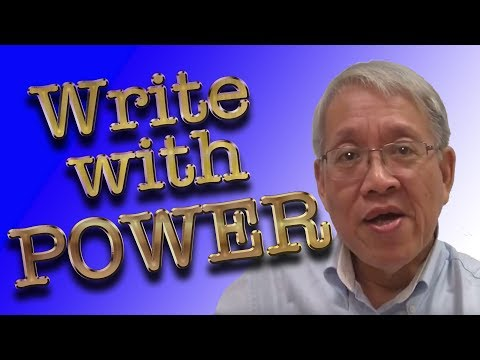 Write in English with POWER Formula
