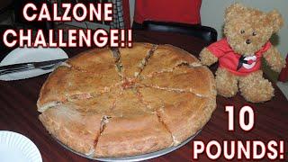 10lb Calzone Eating Challenge w/ Ramsey Hilton!!