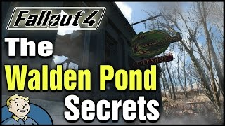 Fallout 4: The Walden Pond Secrets | Unique Melee Weapon, Vault Tec Lunchbox, & a Safe!