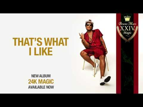 Bruno Mars   That's What I Like Official Audio