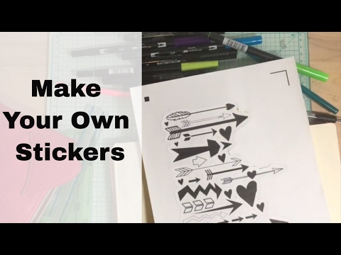 Make Your Own Stickers (TNT - A Scrap Explosion)