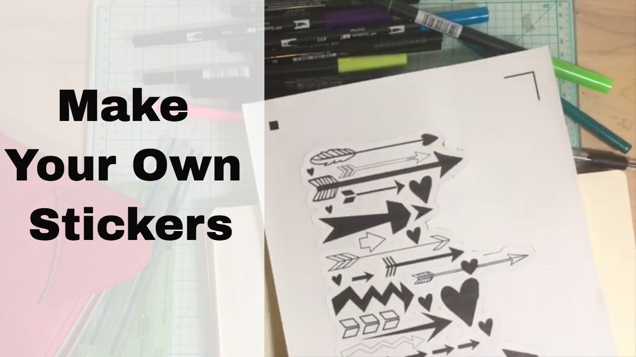 Make Your Own Stickers TNT A Scrap Explosion YouTube - Make your own decal paper