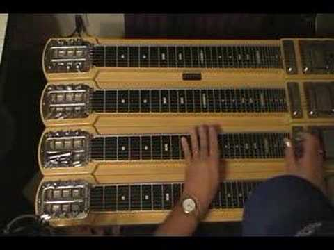 Learn to play HARBOR LIGHTS on Steel Guitar