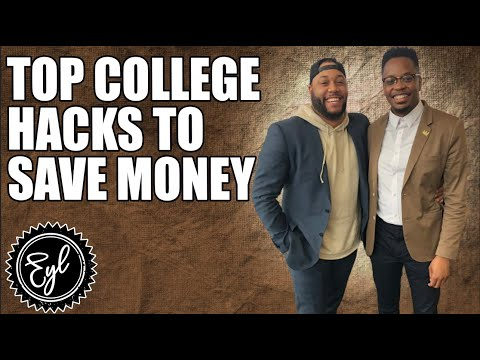 TOP COLLEGE HACKS TO SAVE MONEY