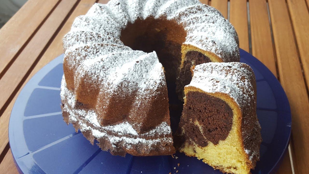 Torta marmoleada casera - Receta clásica y deliciosa