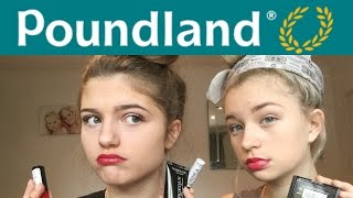 One of Grace and Grace's most viewed videos: Does Poundland Makeup Actually Work? Gracie Cakes