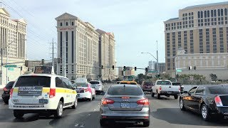 Driving Downtown - Vegas