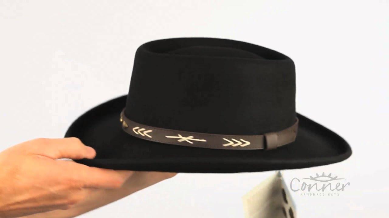 Arizona Gambler Hat SKU  C1074 - YouTube 6de0391451c