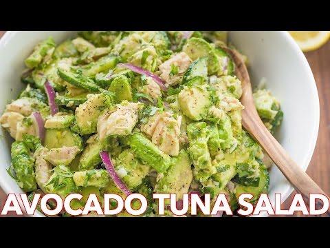 Salads: Avocado Tuna Salad Recipe - Natasha's Kitchen