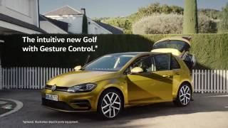 Volkswagen Golf – with optional Gesture Control