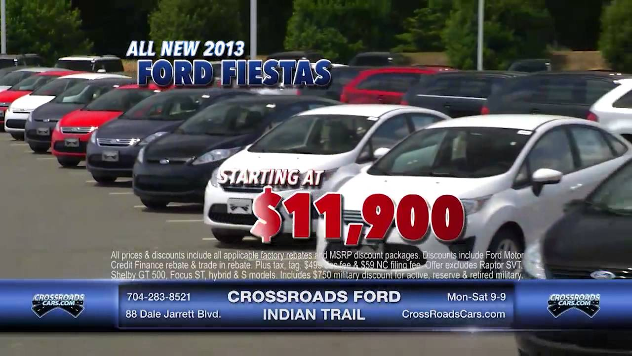 Crossroads Ford Indian Trail >> Crossroads Ford Indian Trail Red White You Cars 6 7 13