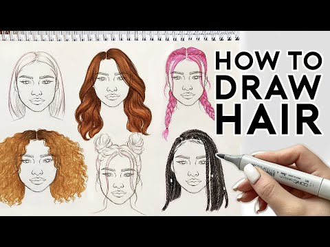 how-to-draw-hairstyles-|-sketching-&-coloring-tutorial