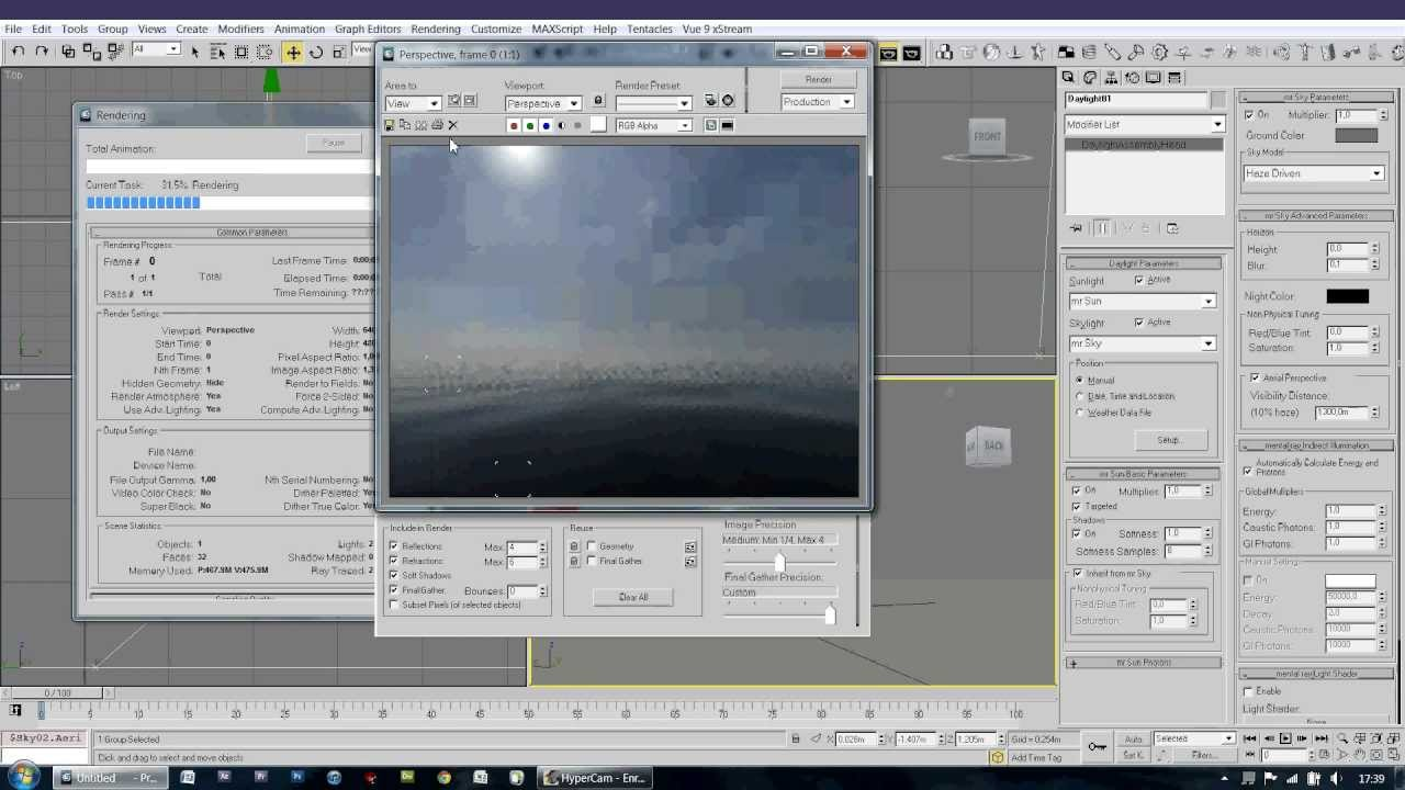 Background image 3ds max viewport - 3ds Max Tutorial Realistic Exterior Environment
