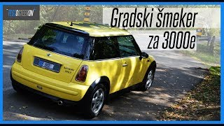 TEST VOŽNJA POLOVNJAK///MINI 1.6 ONE 2002