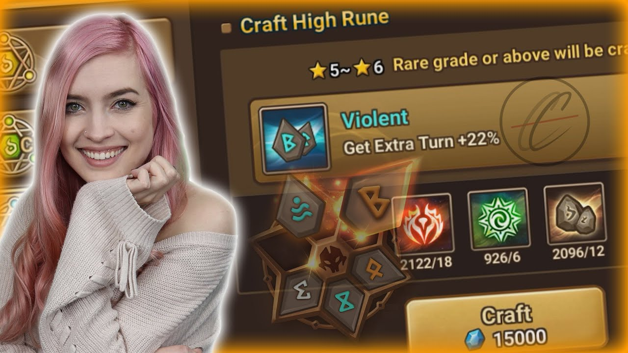 Summoners War | I Do Rune Crafting Videos Now!