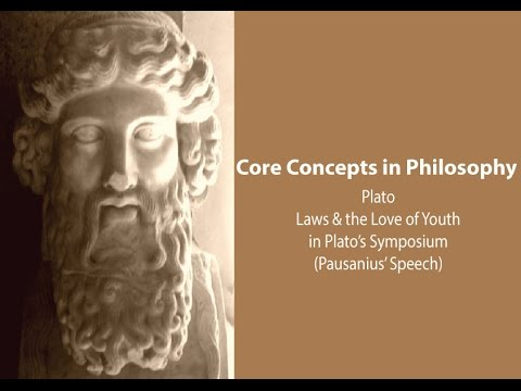 Laws and the Love of Youth in Plato's Symposium - Philosophy Core Concepts