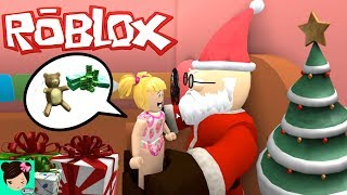 Roblox Bebe Goldie Escapes Santa Noel - Escape Santa Obby Christmas - Titi Games