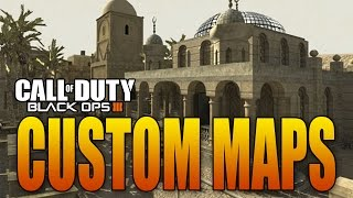 CUSTOM MAP CREATOR IN BO3! MULTIPLAYER AND ZOMBIES! (Black Ops 3 Modding/Mapping)