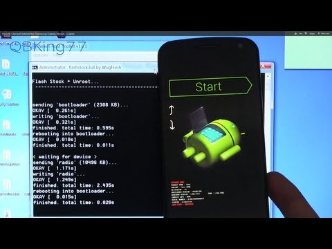 How to Unroot/Unbrick the Samsung Galaxy Nexus - Latest