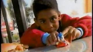 McDonalds Commercial Sonic The Hedgehog 3 Happy Meal 1994