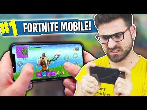 FORTNITE MOBILE SU IPHONE X!