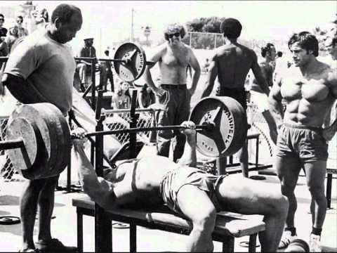 Venice Beach 1970s weight pit Rics Corner.mov - YouTube