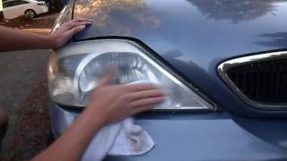 New Way to Easily Restore Headlights Using Baking Soda Peroxide and Toothpaste mix - Part 2.