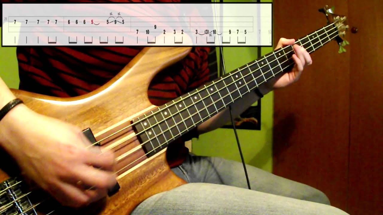 Nirvana Lounge Act Bass Cover Play Along Tabs In Video Youtube